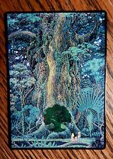 Mtg Altered Art The Secret of Mana Forest