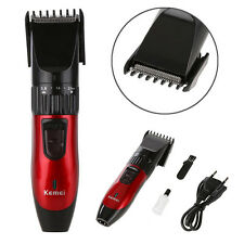 Rechargeable Electric Men's Hair Clipper Razor Beard Trimmer Cutting Machine Kit