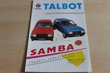 109816) Talbot Samba Prospekt 198?