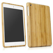 Genuine Natural Bamboo Wood Case Cover Skin for iPad mini 1 2 3 Retina S9DS