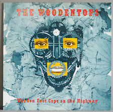 THE WOODENTOPS - WOODEN FOOT COPS ON THE HIGHWAY ORIGINAL 1988 LP - EX COND'N