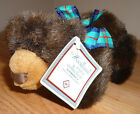 "Russ WOODLAND WINTER BROWN BEAR 6"" jointed plush w/Tag"