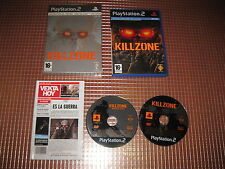 PS2 KILLZONE EDICION ESPECIAL LIMITADA PAL ESPAÑA COMPLETO PLAYSTATION 2