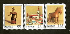 Norway--#738-40 MNH--Christmas/Wooden Toys--1978