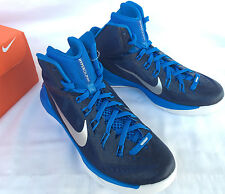 Nike Hyperdunk TB 2014 Navy Blue 653484-403 Basketball Shoes Women's 12.5 NCAA