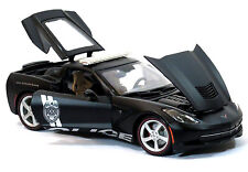 CHEVROLET STINGRAY POLICE 1:18 Scale Metal Diecast Car Model Models