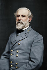 12x18 Robert E Lee Confederate Army General Portrait Canvas Fine Art Print
