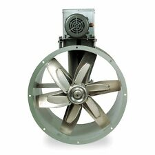 """Replacement 30"""" Tubeaxial Fan & Motor Kit for Paint Spray Booth Exhaust (7F842)"""