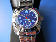 AMPHIBIA VOSTOK 200m AUTOMATIC MECHANICAL  Russian men's watch