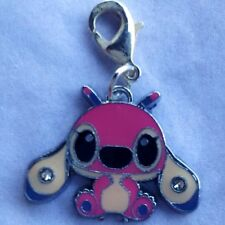 Official Licensed DISNEY Lilo & Stitch Enamel Cousin ANGEL Lobster Clasp Charm