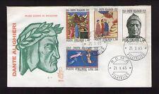 FDC FIRST DAY COVER ITALIA VII CENTEN. DELLA NASCITA DI DANTE ALIGHIERI 1965 N°8