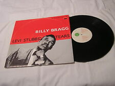 "Billy Bragg 12"" Import Single with Cover-LEVI STUBB'S TEARS+3"