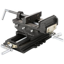 "4"" Cross Slide Vise Drill Press Metal Milling 2 Way X-Y Heavy Duty Clamp Machine"