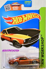 HOT WHEELS 2015 SUPER TREASURE HUNT '69 FORD MUSTANG BOSS 302