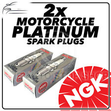 2x NGK Spark Plugs for MOTO GUZZI 1100cc California Vintage (10mm) 06-  No.6378
