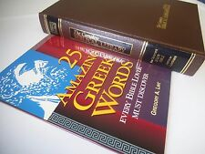 Complete Biblical Library Romans Corinthians Study Bible + Amazing Greek Words