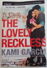 NEW SIGNED KAMI GARCIA  The Lovely Reckless  ARC  UNCORRECTED PROOF