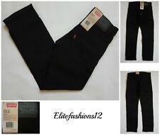 Levi's Boys 511™ Slim Fit Jeans,Black Stretch Size 10R / Waist 25 x Inseam 25