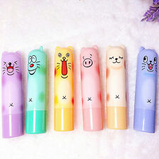 Cute Animal Cartoon Moisturize Makeup Cosmetic Lipstick Lip Balm Women Kid LACA
