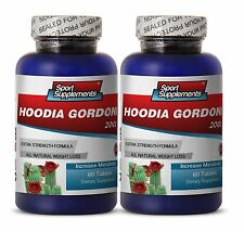 Super Fat Burning - Hoodia Gordonii Cactus 2000mg - Natural Calorie Burn  2B