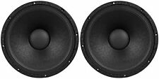 "2) Peavey 1508-8 SF SPS BW RB Replacement Basket 15"" 8 ohm Black Widow Subwoofer"