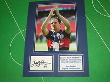 Joey Barton Signed QPR Queens Park Rangers 2014 Wembley Play Off Winners Mount