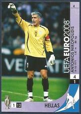 PANINI UEFA EURO 2008 TRADING CARD- #004-ELLAS-GREECE-ANTONIOS NIKOPOLIDIS
