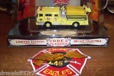 Code 3 Classic -  FDNY Fire - Engine-45, New York City + free fire patch