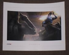 "Mass Effect Garrus Lithograph Unsigned 16"" x 12"" Limited Rare 1 2 3 Official"