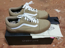 VANS X Golf Wang X Syndicate Old Skool Camel Gum Size 8 supreme wtaps wolf gang