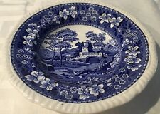 Copland Spode's TOWER BLUE England Cereal Soup Bowl Gadroon Edge*