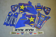 TEAM  ROCKSTAR  GRAPHICS & BACKGRNDS YAMAHA YZ250F YZ400F YZ426F YZF 98 00 01 02