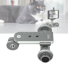 3-Wheel Motorized Table Video Pulley Car Dolly Rolling Slider Skater For iPhone7