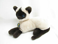 VTG 1986 DAKIN SIAMESE CAT STUFFED PLUSH SOFT TOY KOREA