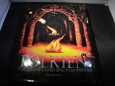 Tolkien - the Illustrated Encyclopedia by David Day Hardcover 1991 average