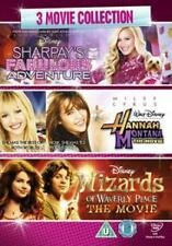 DVD:SHARPAYS FABULOUS ADVENTURE / HANNAH MOVIE / WIZARDS OF - NEW Region 2 UK