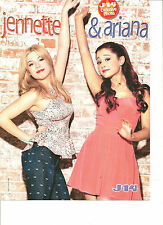 Jennette McCurdy and Ariana Grande, Full Page Pinup
