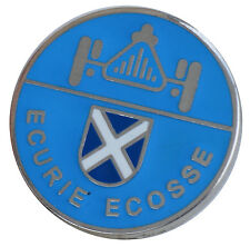 ECURIE ECOSSE   - Jaguar Scotland lapel pin