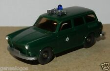 MICRO WIKING HO 1/87 VW VOLKSWAGEN 1500 variant POLICE POLIZEI