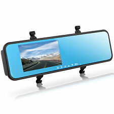 New 4.3'' Video Recorder Dash Cam Rearview Mirror Car Camera DVR