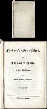 Teatro W. Frhr. di Kleudgen fortuna's sposa viaggio quasi di notte - 1841 Posse
