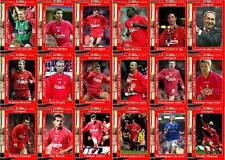 Liverpool 2001 Football League Cup final winners trading cards