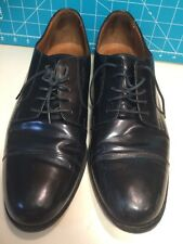 Bostonian Classics Black Leather Cap toe Oxford Shoe Men's Size 12 M