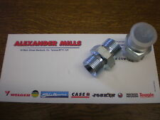 """Hydraulic Hose Adaptor Coupler Fitting 3/4"""" BSP Male To Male (2pk) Hydraulics"""