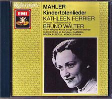 Kathleen FERRIER: MAHLER Kindertotenlieder WALTER EMI JP CD Gluck Purcell Handel