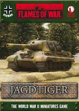 Flames of War Jagdtiger Box Set GBX70 WWII Miniature for FOW Brand New