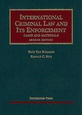 International Criminal Law and Its Enforcement, Cases and Materials, 2d (Univers