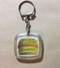 Porte Clé Keyring Épicerie Confiserie Kermesse De La Bêtise Cambrai