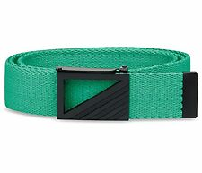 New Adidas Golf Men's Webbing Belt Bright Green Cut-To-Size