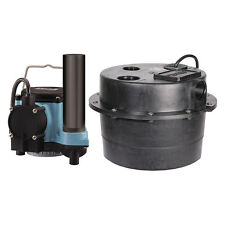 Little Giant WRSC-6 1/3 HP Compact Drainosaur Tank and Pump Combo System 506065
